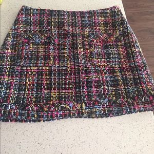 Zara Mini tweed mini skirt size Medium/6